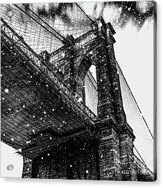 Snow Collection Set 08 Acrylic Print