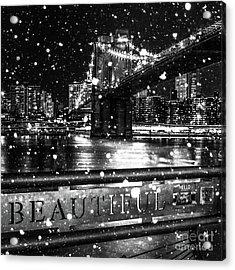 Snow Collection Set 09 Acrylic Print