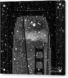 Snow Collection Set 12 Acrylic Print