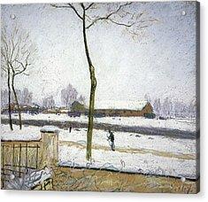 Snow Effect, 1885 Acrylic Print