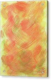 Soft Orange Colors 2 Acrylic Print