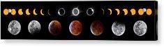 Solar And Lunar Eclipse Progression Acrylic Print