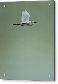 Acrylic Print featuring the painting Solitude by Peter Mathios