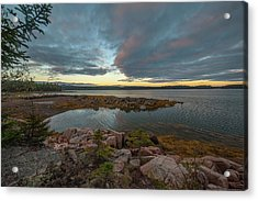 Acrylic Print featuring the photograph Somes Sound Sunset by Rick Hartigan