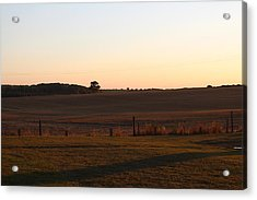 Somme Sunset Acrylic Print