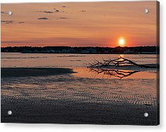 Soundview Sunset Acrylic Print