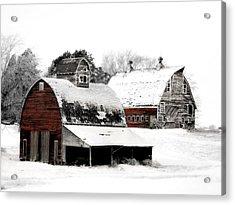 South Dakota Farm Acrylic Print