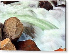 South Fork Of The Kings River, California Acrylic Print