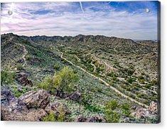 South Mountain Landscape Acrylic Print