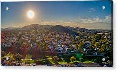 South Mountain Sunset Acrylic Print