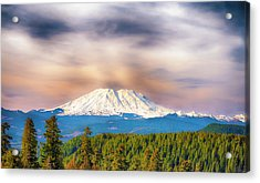 South Side View Of Mt. St. Helens Acrylic Print