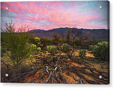 Southwest Day's End Acrylic Print