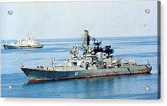 Soviet Navy Kresta II Class Cruiser Acrylic Print
