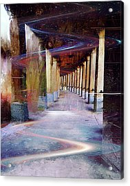 Space Corridor Acrylic Print