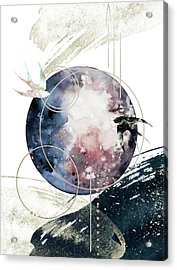 Acrylic Print featuring the digital art Space Operetta by Bee-Bee Deigner