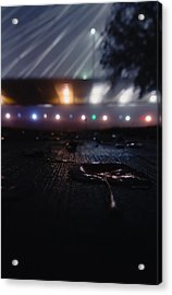 Spaceship Acrylic Print