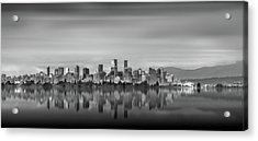 Special View Of Downtown Vancouver Acrylic Print