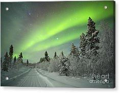 Spectacular Aurora Borealis Northern Acrylic Print