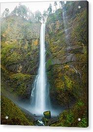 Spectacular Multnomah Falls Acrylic Print