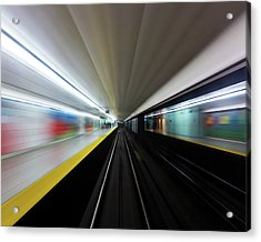 Acrylic Print featuring the photograph Speed 2 by Brian Carson