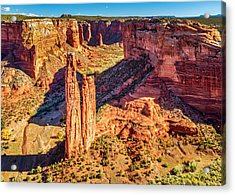 Acrylic Print featuring the photograph Spider Rock by Andy Crawford