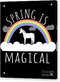 Spring Is Magical Acrylic Print