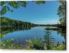 Spring Morning On Grand Sable Lake Acrylic Print