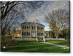 Springtime At Longfellow House Acrylic Print