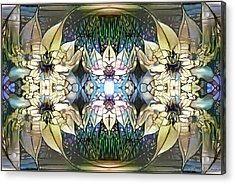 Acrylic Print featuring the digital art Springtime Joy by Missy Gainer