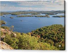 Squam Lake, New Hampshire Acrylic Print by Denisebush
