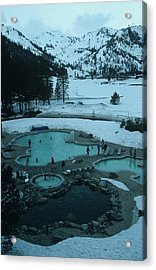 Squaw Valley Pool Acrylic Print