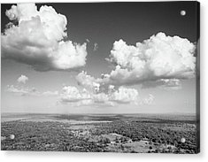 Sri Lankan Clouds In Black Acrylic Print
