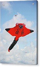 St. Annes. The Kite Festival Acrylic Print