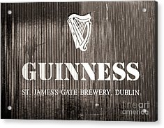 St. James Gate Brewery Dublin Acrylic Print