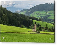 St Johann From The East Acrylic Print