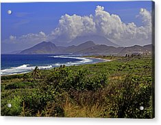 Acrylic Print featuring the photograph St Kitts  by Tony Murtagh