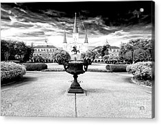 St. Louis Cathedral Dimensions New Orleans Acrylic Print