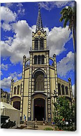 Acrylic Print featuring the photograph St. Louis Cathedral by Tony Murtagh