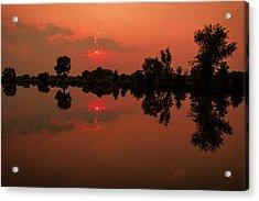 St. Vrain Sunset Acrylic Print