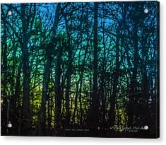 Stained Glass Dawn Acrylic Print