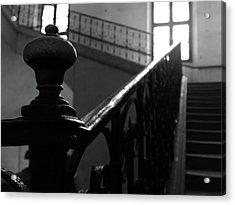 Stairs, Handrail Acrylic Print