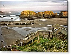 Stairs To The Beach Acrylic Print