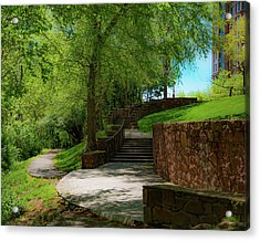 Stairway To Carlyle Acrylic Print