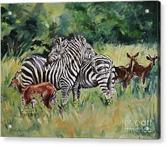 Stand Together Acrylic Print