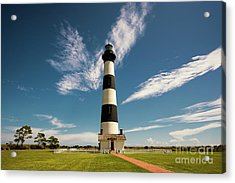 Acrylic Print featuring the photograph Standing Proud Bodie Island Lighthouse by Terry Rowe