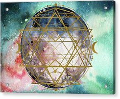 Acrylic Print featuring the digital art Starchild by Bee-Bee Deigner