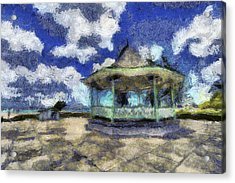 Starry Night Bandstand  Acrylic Print