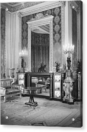 State Apartments Acrylic Print by Arthur Tanner