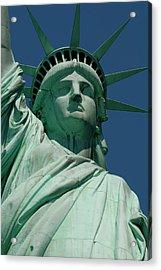 Statue Of Liberty, Nyc Acrylic Print by Manrico Mirabelli