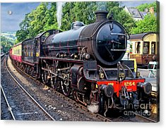 Steam Locomotive 1264 Nymr Acrylic Print